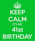 Roe 41st Birthday