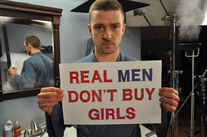 Real men dont pay for sex