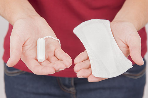 Pads are excellent for people who just don't want to bother with painful insertion, potentially difficult removal, or the other physical problems of tampon use.